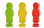Gummy Users in Lifesaver candy colors